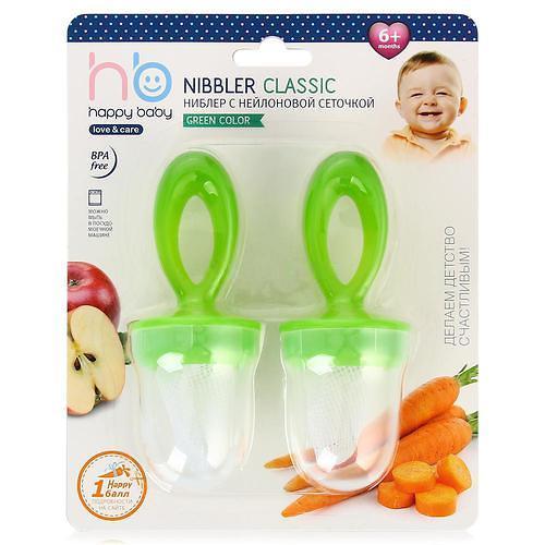 Ниблер Happy Baby Nibbler Classic Green (4)