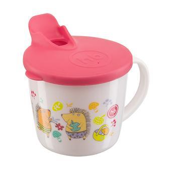 Тренировочная кружка Happy Baby Training cup с Красной крышкой - Minim