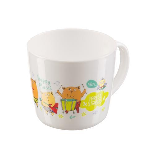 Тренировочная кружка Happy Baby Training cup с Красной крышкой (11)