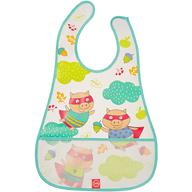 Нагрудник Happy Baby на липучке Waterproof Baby Bib Mint Pigs