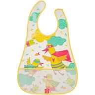 Нагрудник Happy Baby на липучке Waterproof Baby Bib Yellow Duck