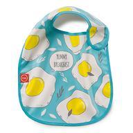Нагрудник Happy Baby на липучке Waterproof baby bib Голубой