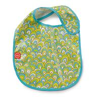 Нагрудник Happy Baby на липучке Waterproof baby bib Цветной
