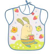 Фартук Happy Baby нагрудный Baby bib with hangers Сиреневый rabbit