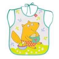 Фартук Happy Baby нагрудный Baby bib with hangers Мятный fox