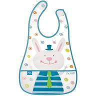 Слюнявчик на липучке Happy Baby Children's bib Mr Rabbit