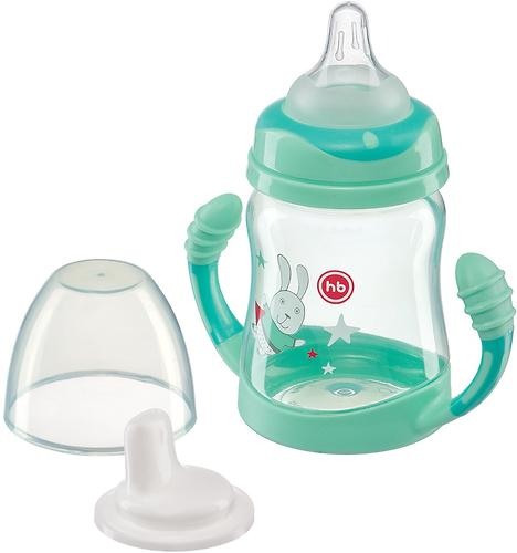 Поильник Happy Baby Feeding Cup с ручками 210 мл Mint (3)
