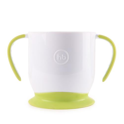 Кружка Happy Baby на присоске Baby cup with suction base Grass (5)