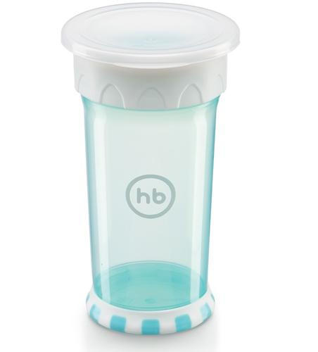 Кружка-поильник Happy Baby Drinking cup 360° Blue (5)