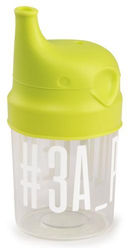 Стакан с насадкой-поильником Happy Baby 15049 Lime (4)