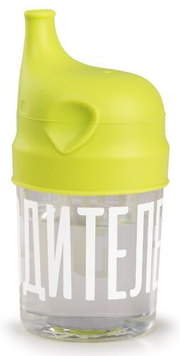 Стакан с насадкой-поильником Happy Baby 15049 Lime (5)