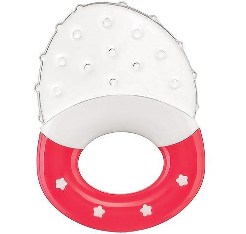 Прорезыватель силиконовый Happy Baby Silicone Teether 20024 Red (1)