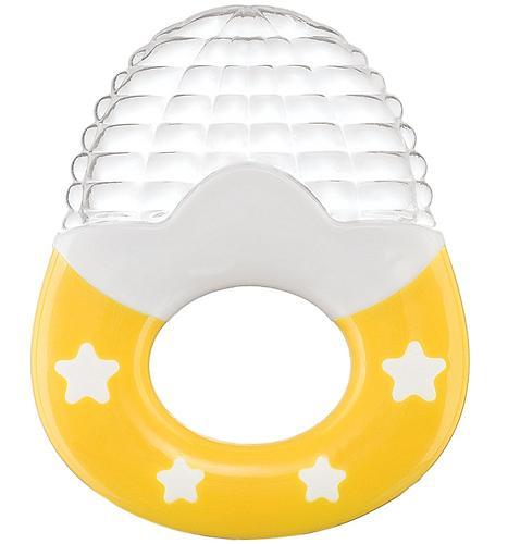 Прорезыватель силиконовый Happy Baby Silicone Teether 20024 Yellow (1)