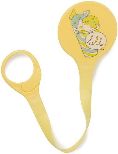 Держатель Happy Baby для пустышки Pacifier Holder Yellow (7)