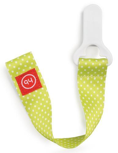 Держатель Happy Baby для пустышки Pacifier Holder Lime 11018 (3)