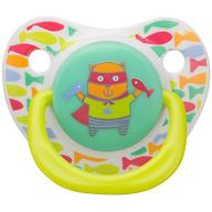 Соска Happy Baby 0-12 мес Baby Soother Natural dental симметричной формы Cat