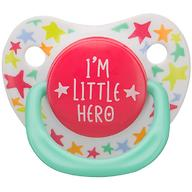 Соска Happy Baby 0-12 мес Baby Soother Natural dental симметричной формы I am a hero