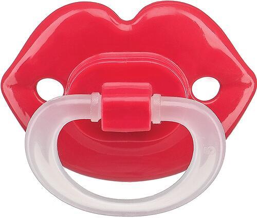 Соска-пустышка Happy Baby Baby силиконовая ортодонтическая Губки (5)