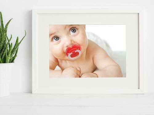 Соска-пустышка Happy Baby Baby силиконовая ортодонтическая Губки (7)