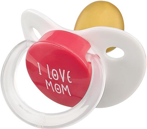 Соска-пустышка Happy Baby Baby латексная Red (4)