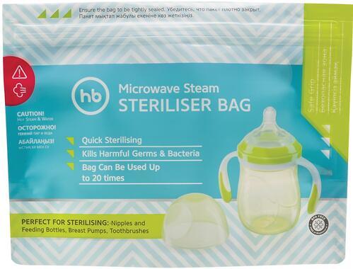 Пакеты Happy Baby для стерилизации в микроволновой печи (6)
