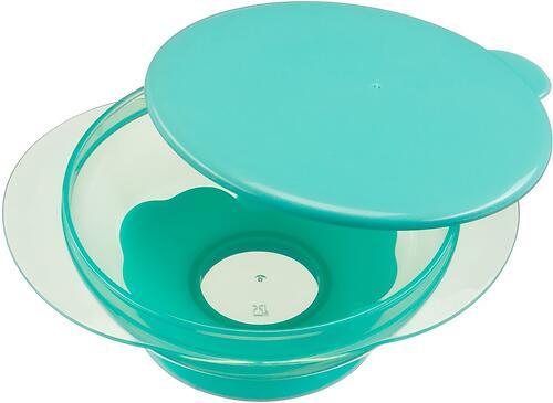 Тарелочка детская на присоске с крышкой Happy baby Feeding Bowl Mint (5)