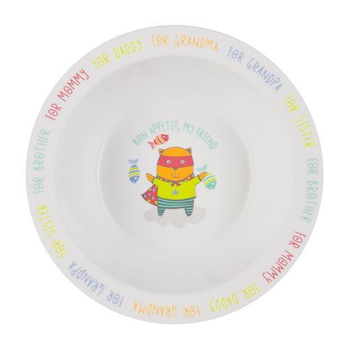 Тарелка Happy Baby глубокая на присоске Feeding bowl Желтый (7)