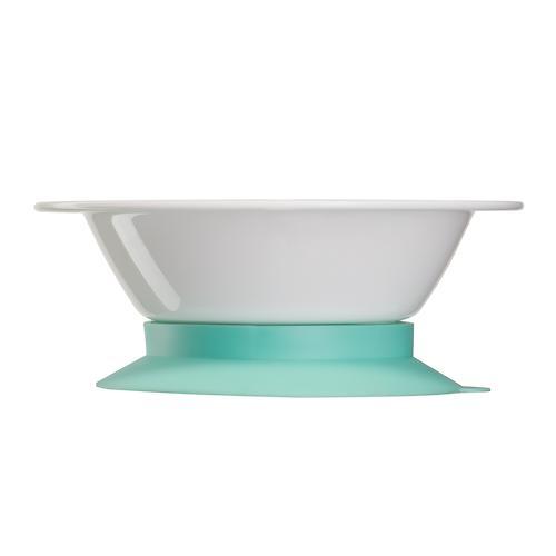 Тарелка Happy Baby глубокая на присоске Feeding bowl Мятный (5)