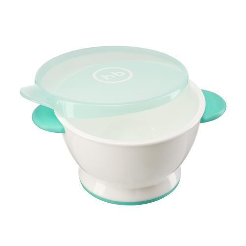 Тарелка Happy Baby с крышкой Small bowl Мятная (4)