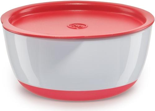 Набор тарелок Happy Baby с крышкой Bowl Set With Airproof Lid Red (6)