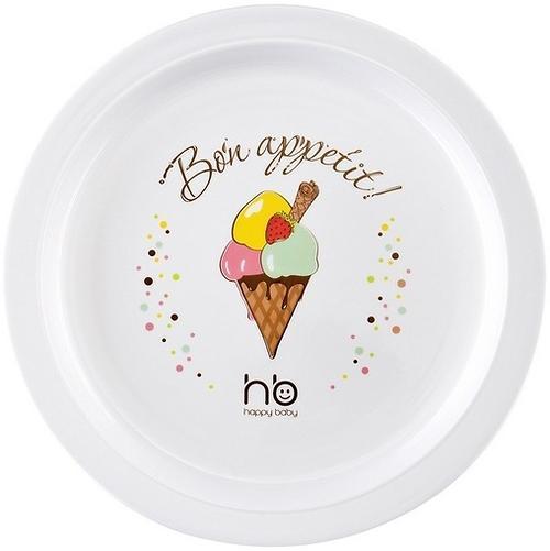Детская тарелка Happy baby Children's plate Ice-cream (1)