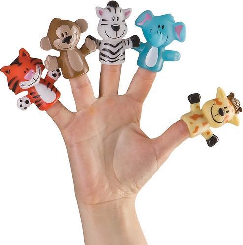Набор игрушек на палец Happy Baby Fun amigos (6)