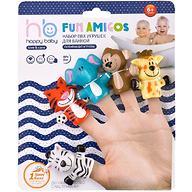 Набор игрушек на палец Happy Baby Fun amigos