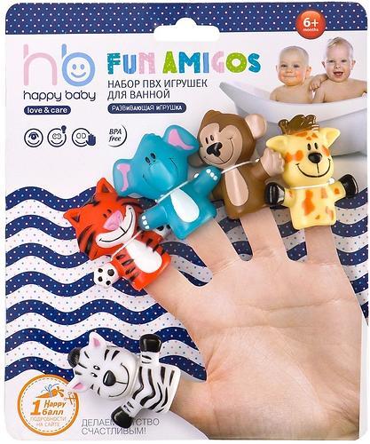 Набор игрушек на палец Happy Baby Fun amigos (4)