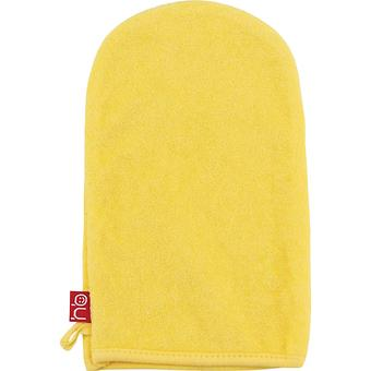 Мочалка-рукавичка для купания Happy Baby Wash and Bath, Yellow - Minim