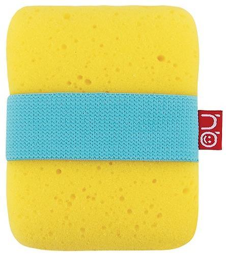 Мочалка с резинкой на руку Happy Baby Sponge Yellow (1)