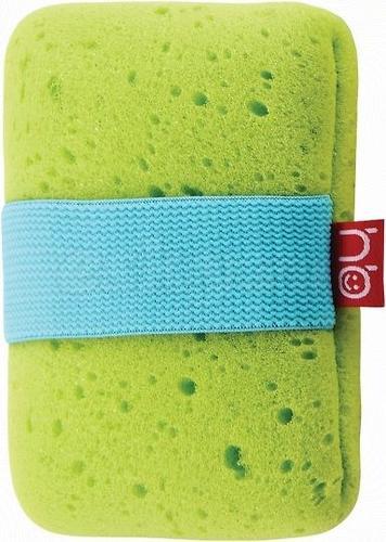 Мочалка с резинкой на руку Happy Baby Sponge Green (3)