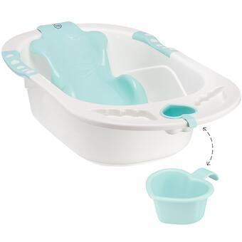 Ванна Happy baby с анатомической горкой Bath comfort Aquamarine - Minim
