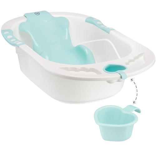 Ванна Happy baby с анатомической горкой Bath comfort Aquamarine (3)