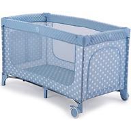 Кровать-манеж Happy Baby Martin Aqua