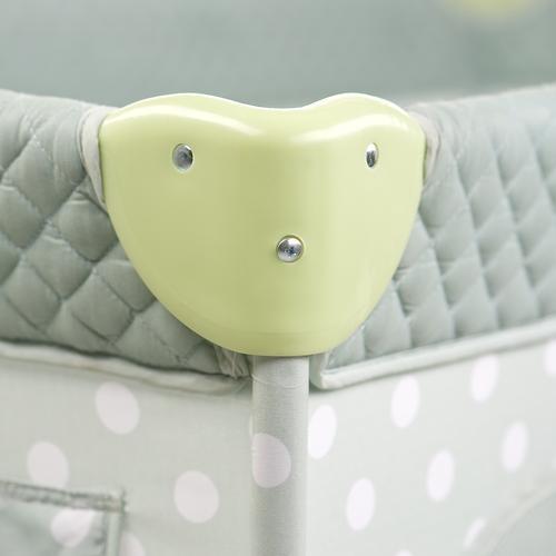 Кровать-манеж Happy Baby Martin Rose (11)