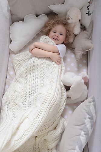 Кровать-манеж Happy Baby Martin Rose (13)