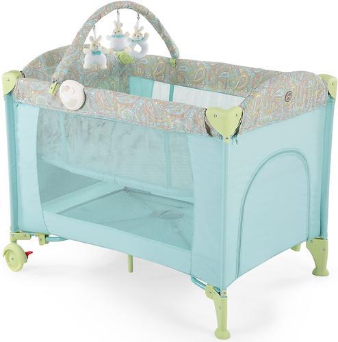 Кровать-манеж Happy Baby Lagoon V2 Blue (5)