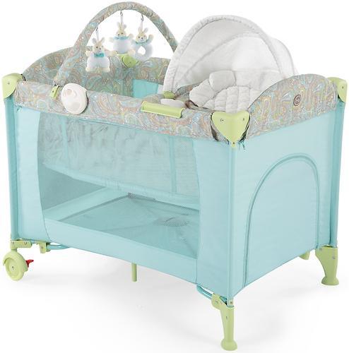 Кровать-манеж Happy Baby Lagoon V2 Blue (4)