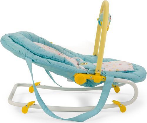 Шезлонг Happy Baby Nesty Green (11)