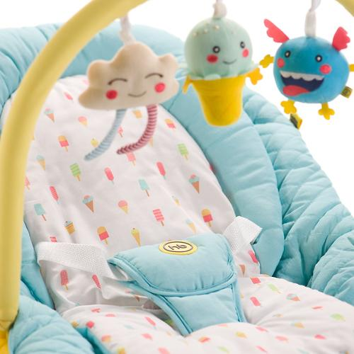 Шезлонг Happy Baby Nesty Green (14)