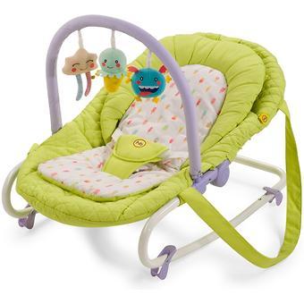 Шезлонг Happy Baby Nesty Green - Minim