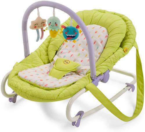 Шезлонг Happy Baby Nesty Green (8)