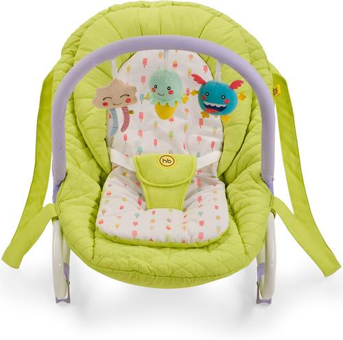 Шезлонг Happy Baby Nesty Green (9)