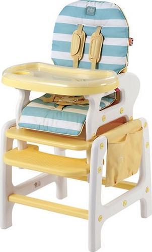 Стульчик для кормления Happy Baby Oliver Yellow (5)